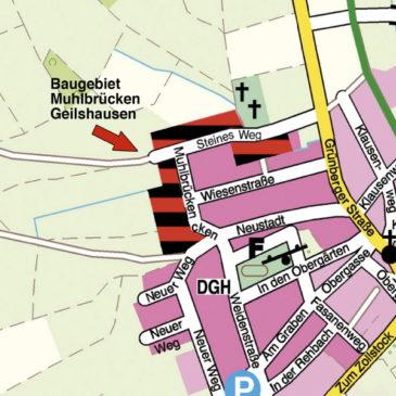 Baugebiet »Muhlbrücken« in Rabenau-Geilshausen