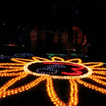 Park- und Lichterfest in Rabenau-Londorf
